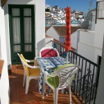 Frigiliana Apartment Balcony