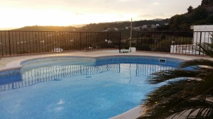 Frigiliana apartment with pool