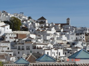 View of Frigiliana