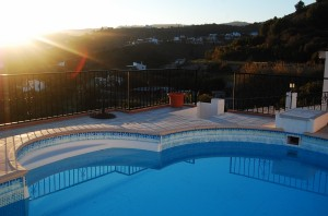 Frigiliana apartment rental pool